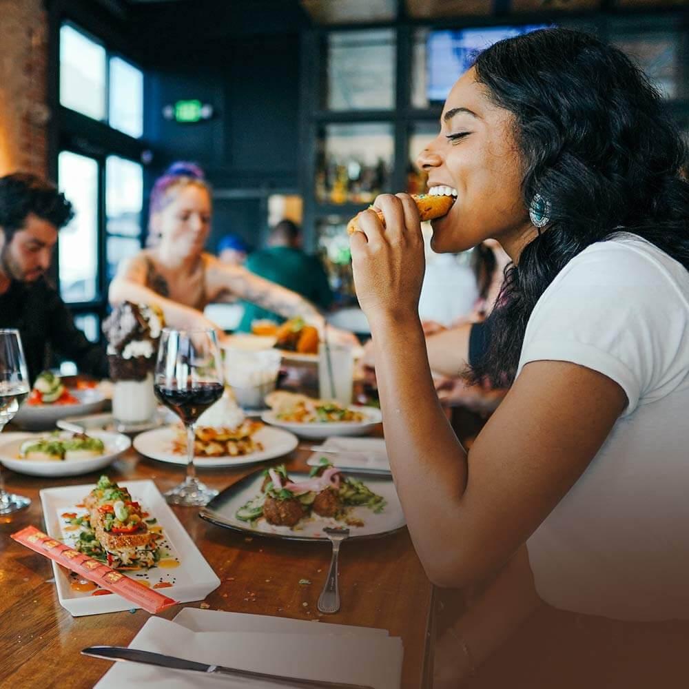 Eat . Drink . meet . have fun